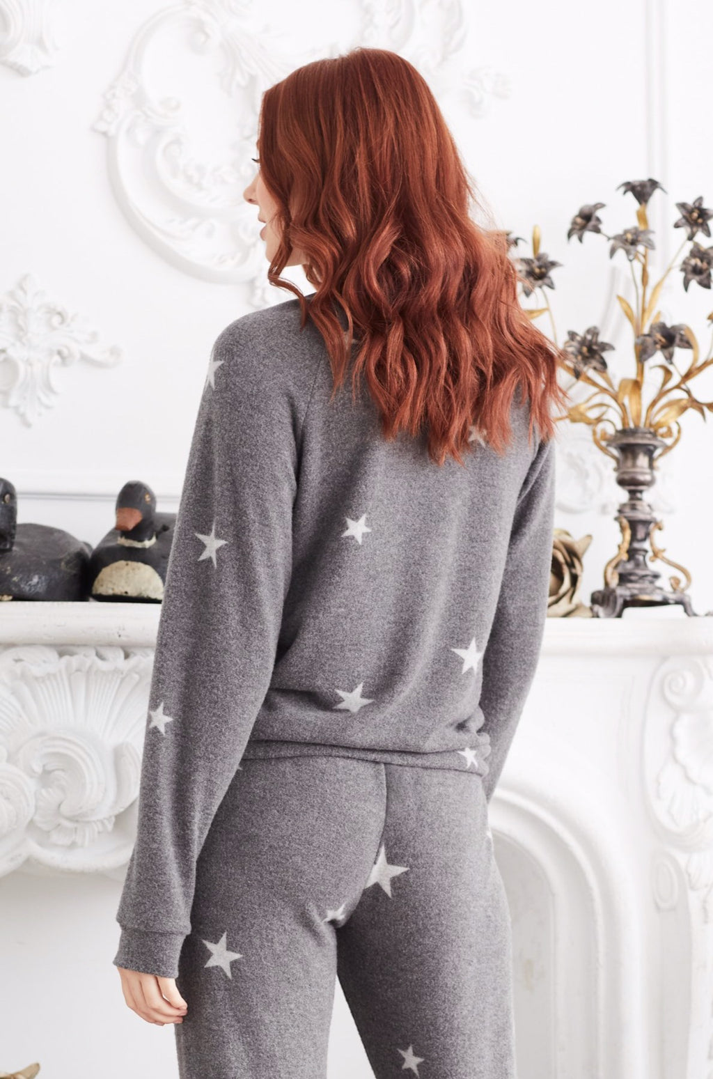 Reach for the Stars Brushed Pullover