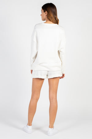Loop Terry Relaxed Shorts - honey