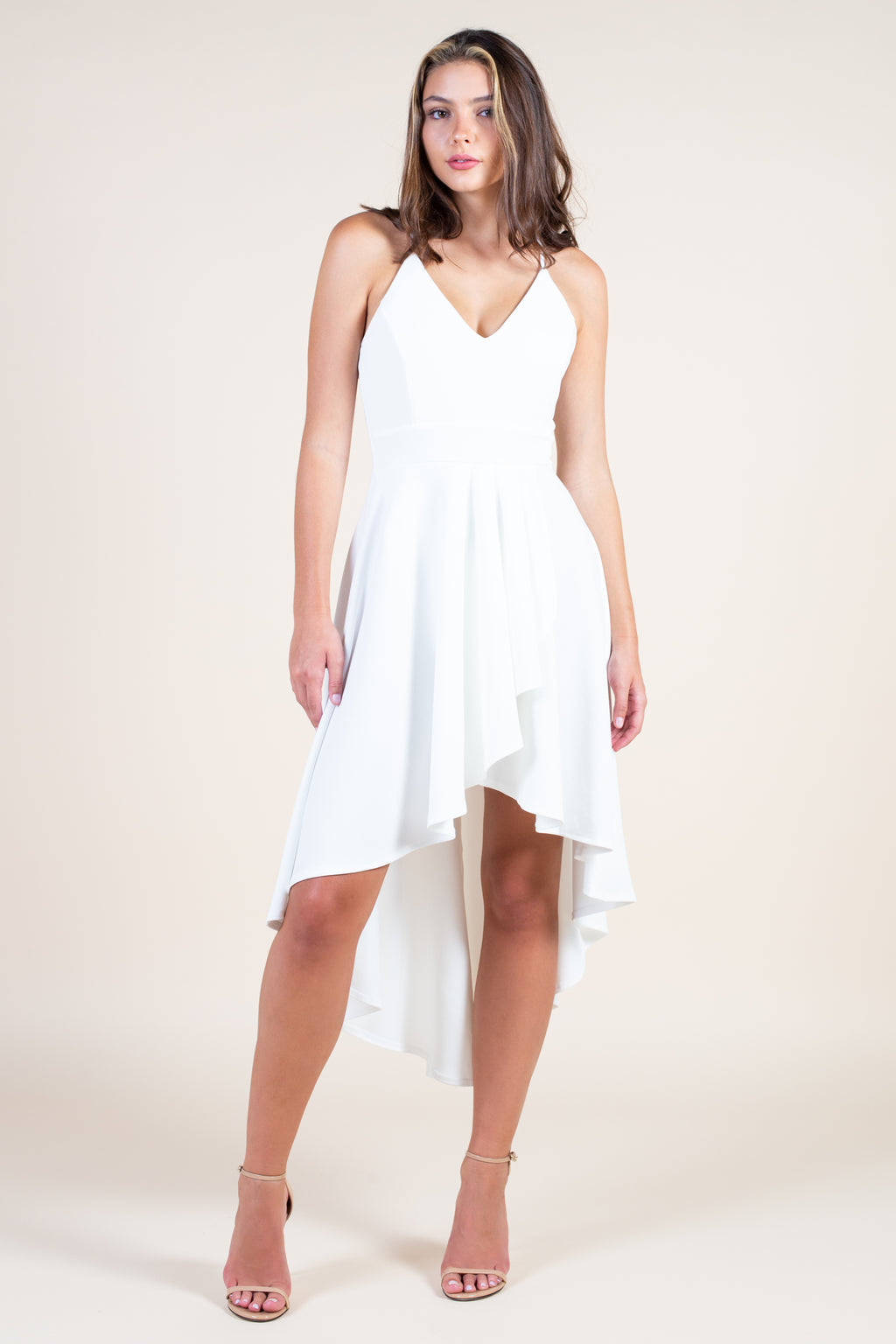 Believe in Love Hi-Lo Midi Dress