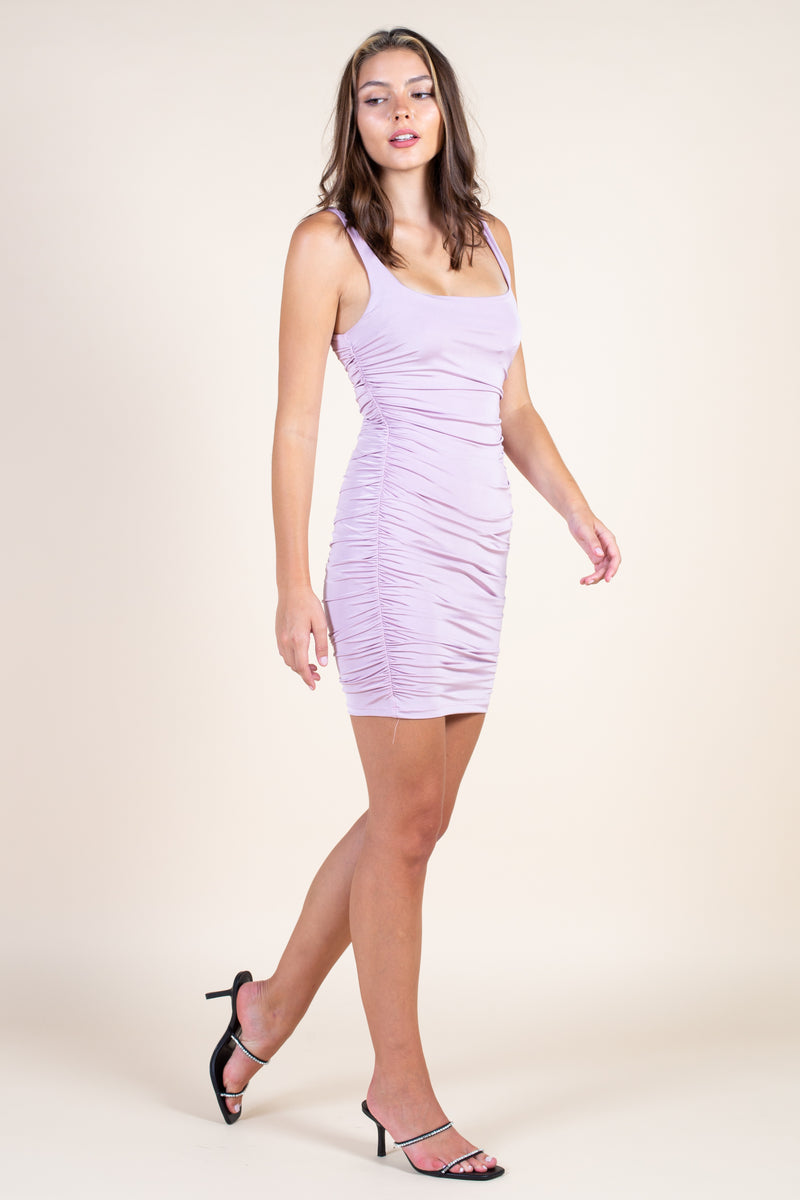 Sweet Thing Ruched Mini Dress