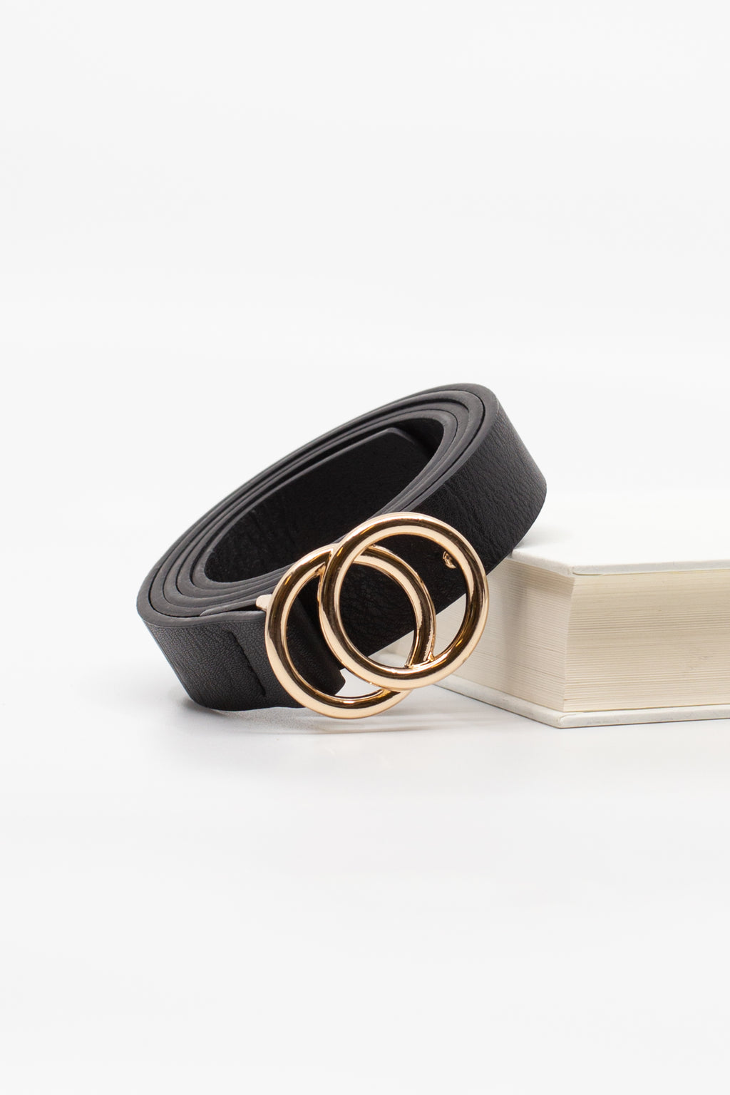 Mini Double Ring Belt - honey