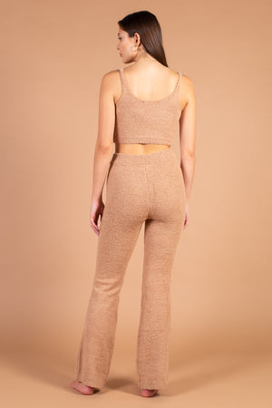 Fiona High Waisted Plush Knit Pants