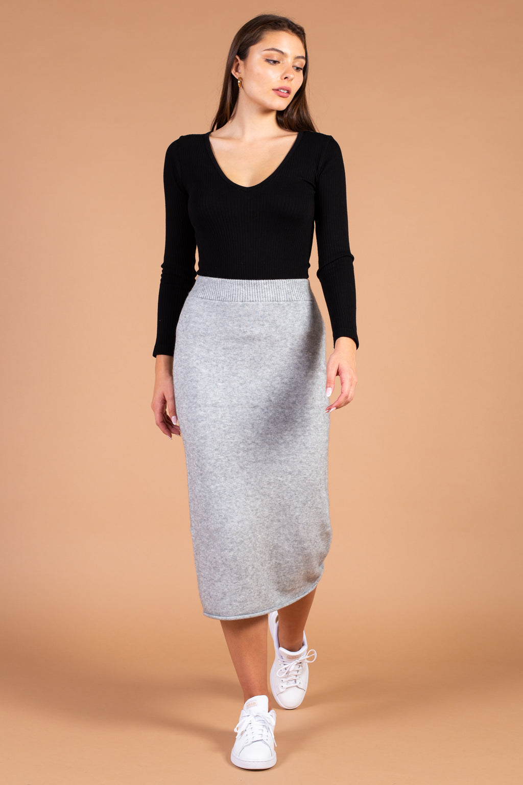 Peyton Sweater Knit Midi Skirt