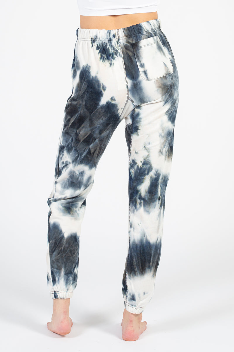 Tie Dye Joggers - honey