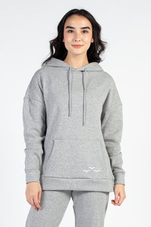 Cooper Ultra Soft Velour Hoodie - honey