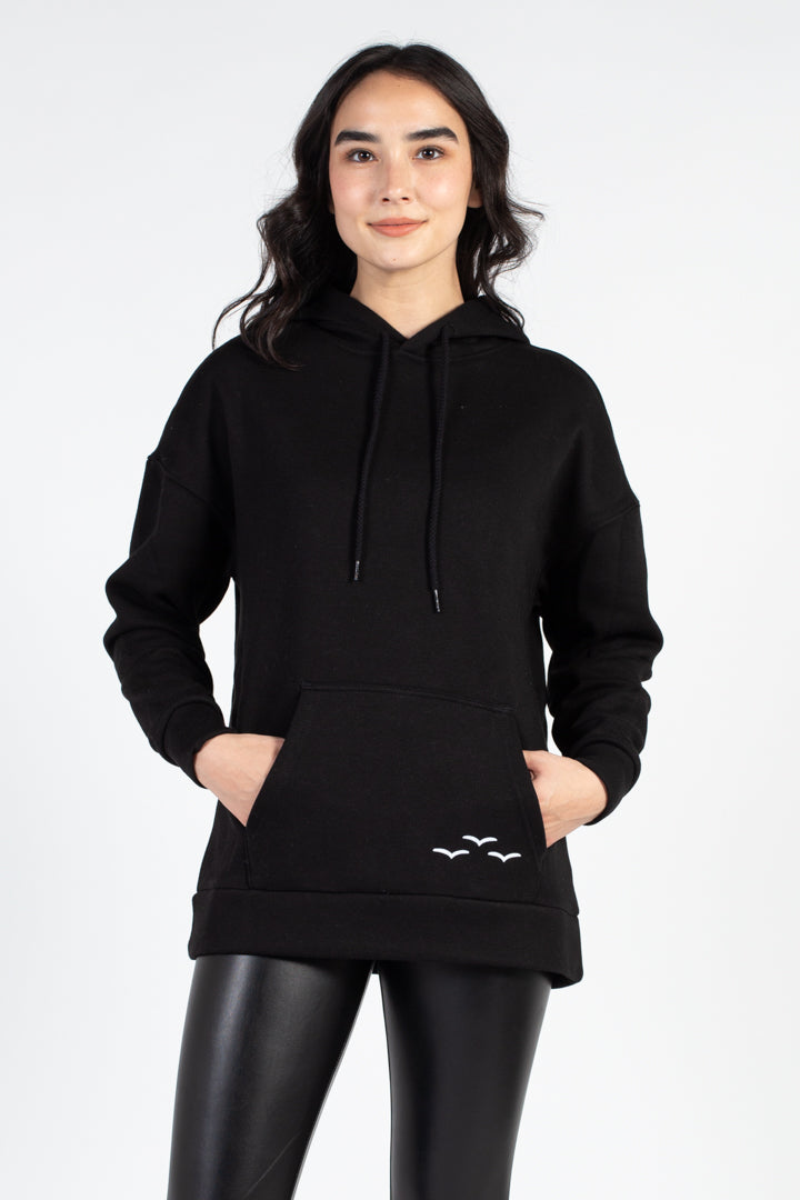 Cooper Ultra Soft Velour Hoodie