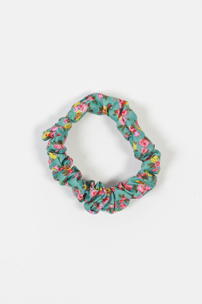 Mini Ditsy Floral Scrunchie