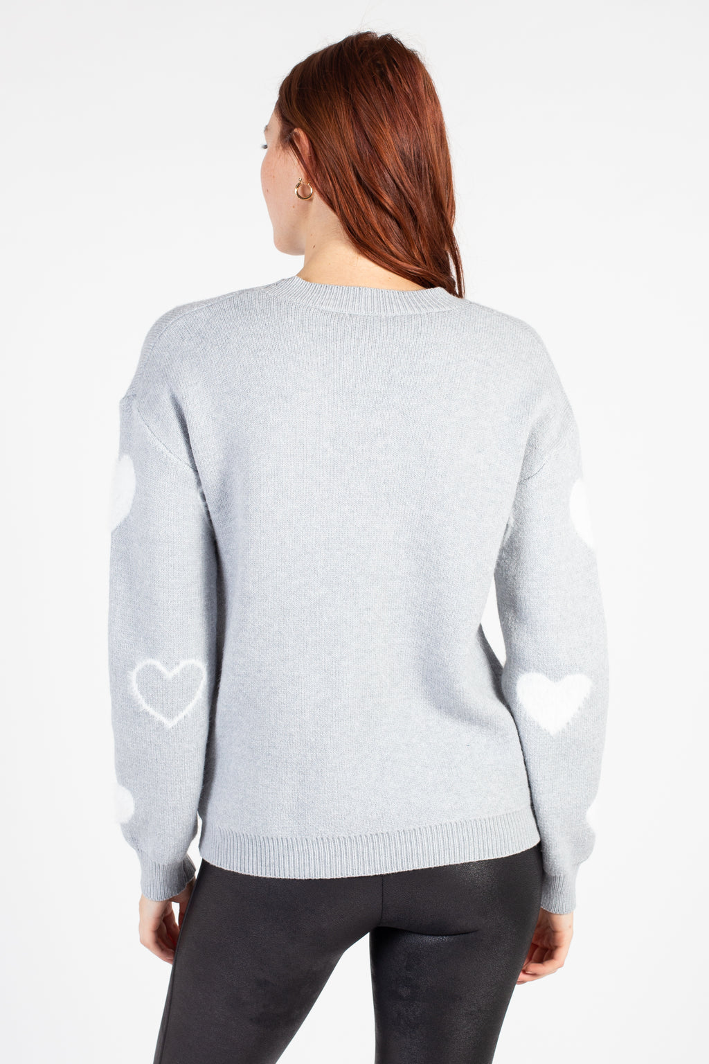 Aniya Fuzzy Hearts Sweater
