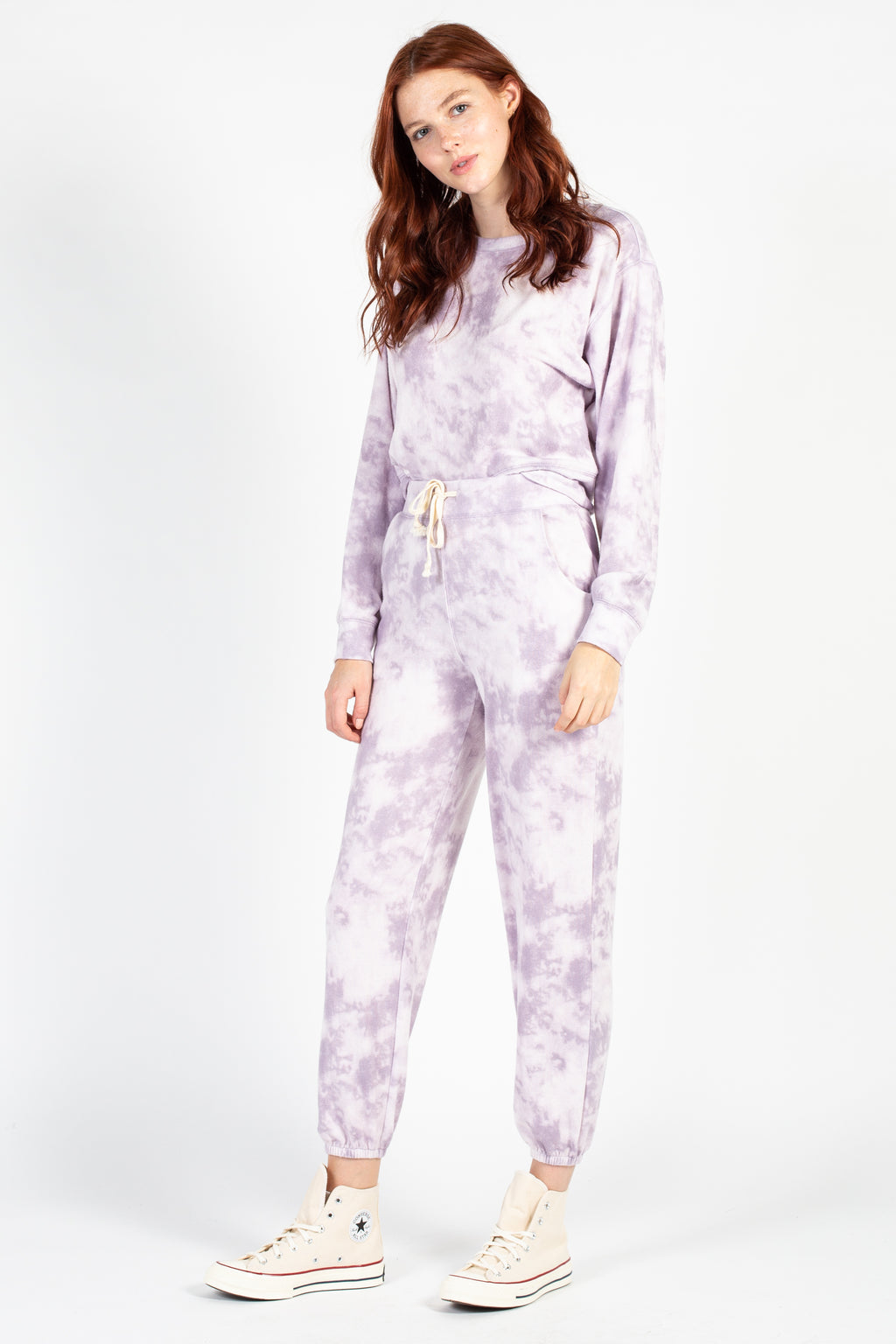 Tie Dye Lounge Sweatpants - honey