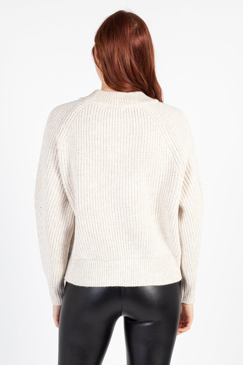 Kiera Ribbed Knit Sweater - honey