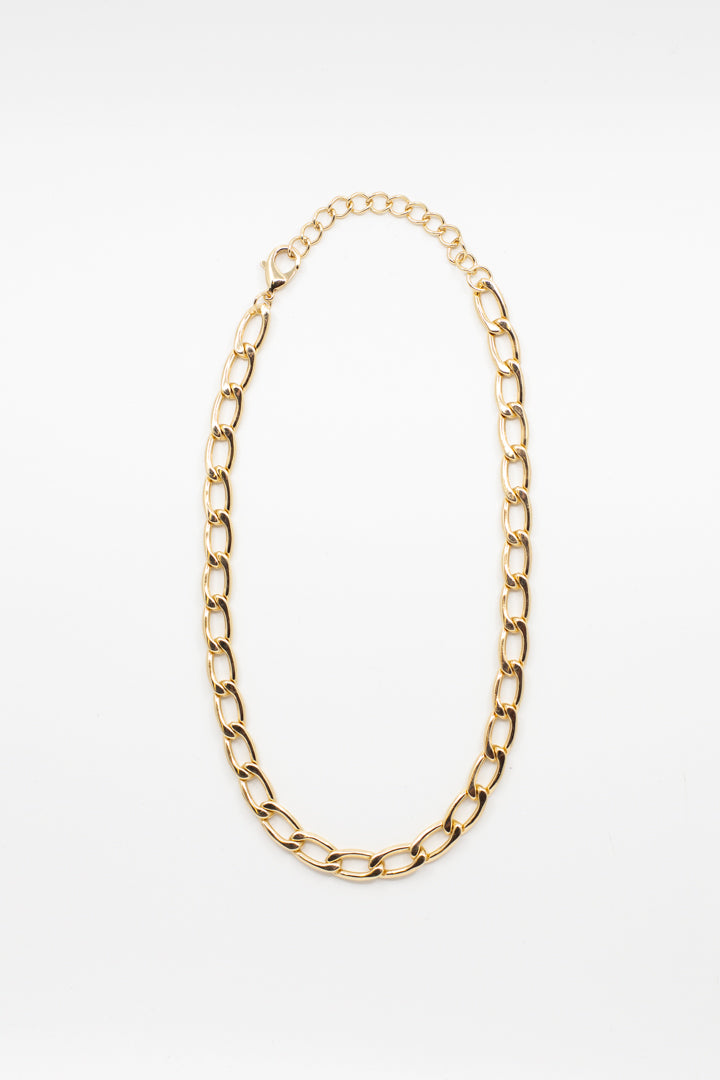 Medium Gold Chain Necklace - honey