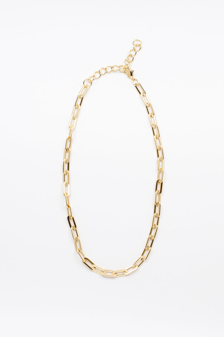 Dainty Gold Chain Necklace - honey