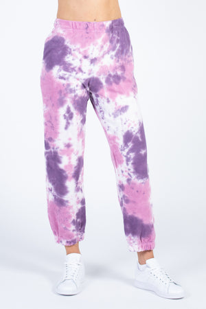 Classic Tie Dye Sweatpants - honey