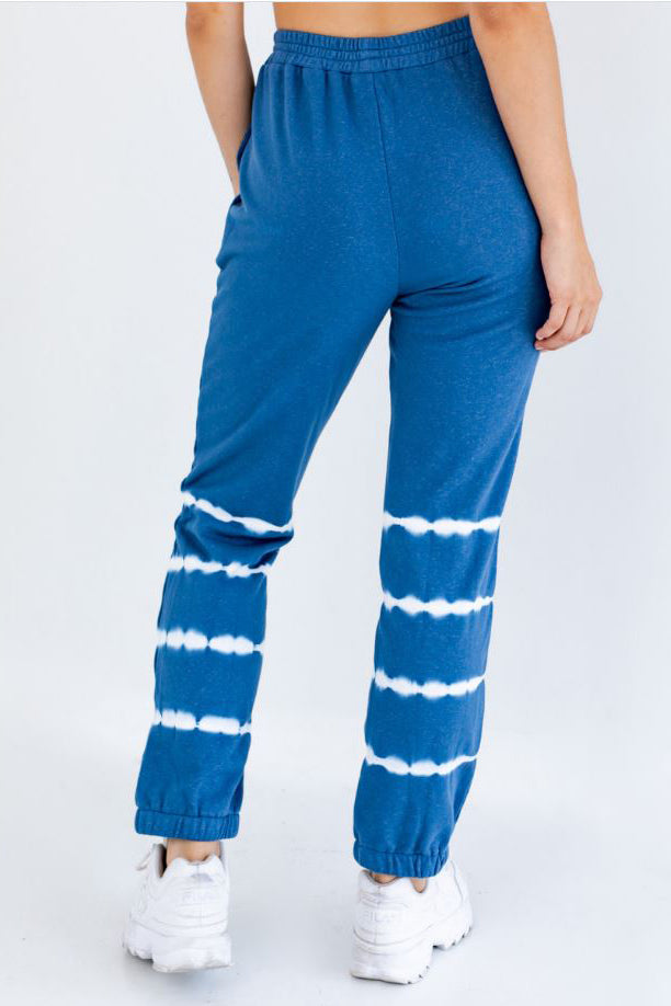 Stripey Tie Dye Sweatpants