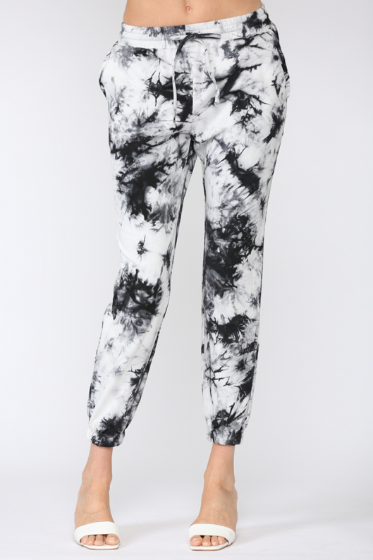 Tie Dye Flat Pocket Sweatpants
