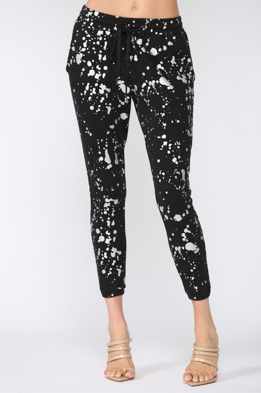 Foil Splatter Sweatpants
