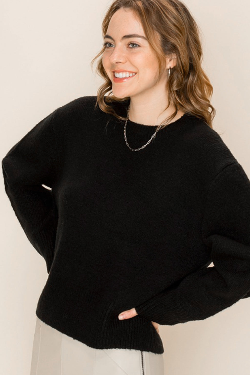 Megan Soft Knit Sweater