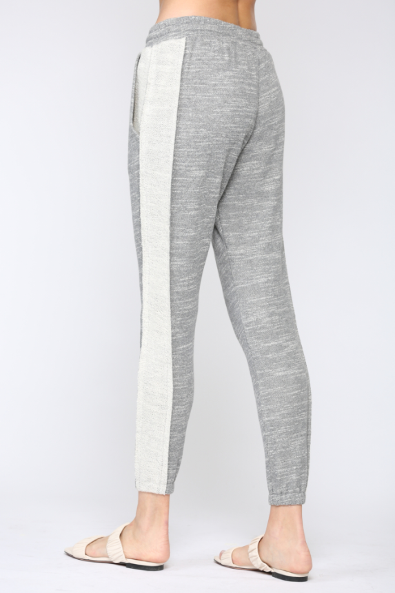 Side Stripe French Terry Sweatpant
