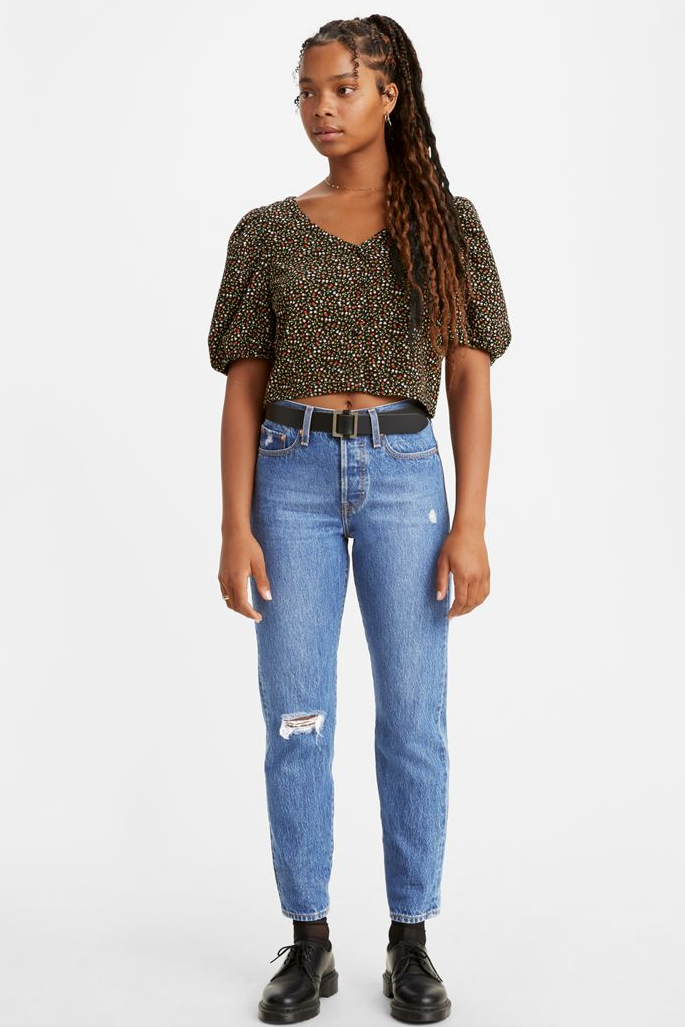 Levi's Wedgie Fit Ankle Jeans - honey