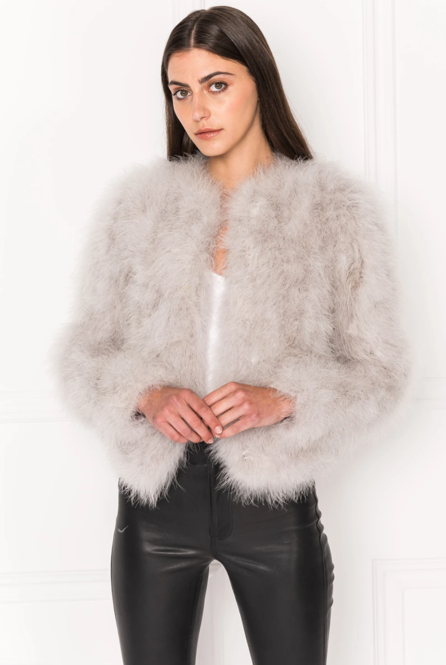 Deora Feather Jacket