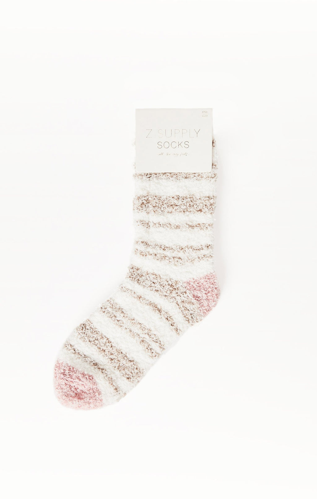 Striped Plush Socks