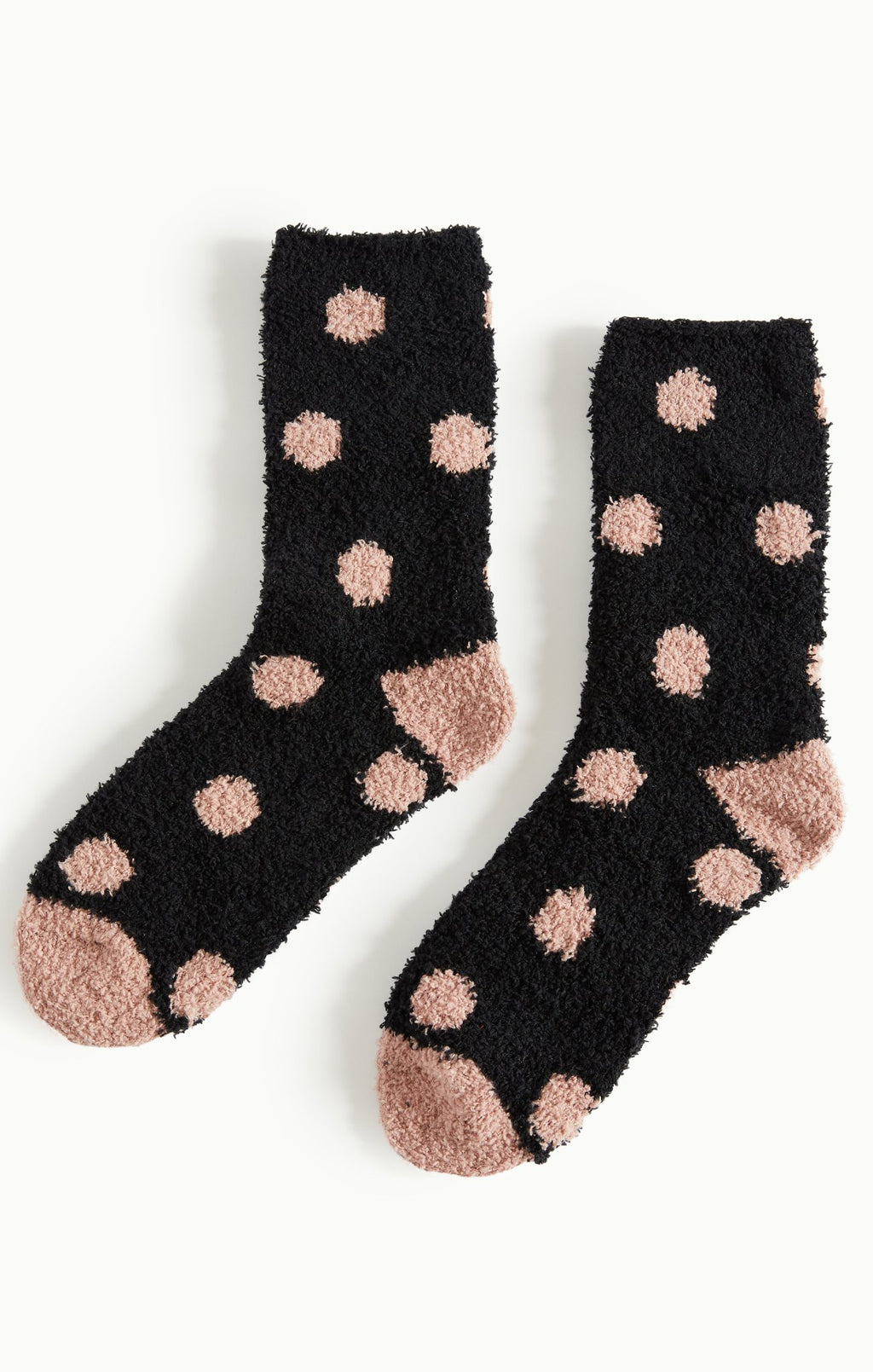 Dot Plush Socks