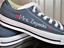 Load image into Gallery viewer, Custom Stitching On Converse or Other Fabric Surface Shoes-  Customer Provides Shoes