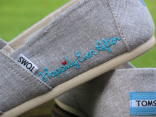 Load image into Gallery viewer, TOMS shoes, Embroidered Custom - Shoes Included