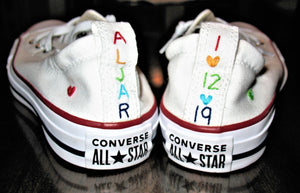 Custom Shoreline Converse Shoes -  Shoes Included