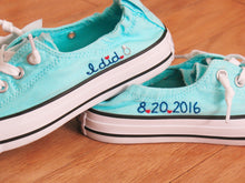 Load image into Gallery viewer, Custom Shoreline Converse Shoes -  Shoes Included