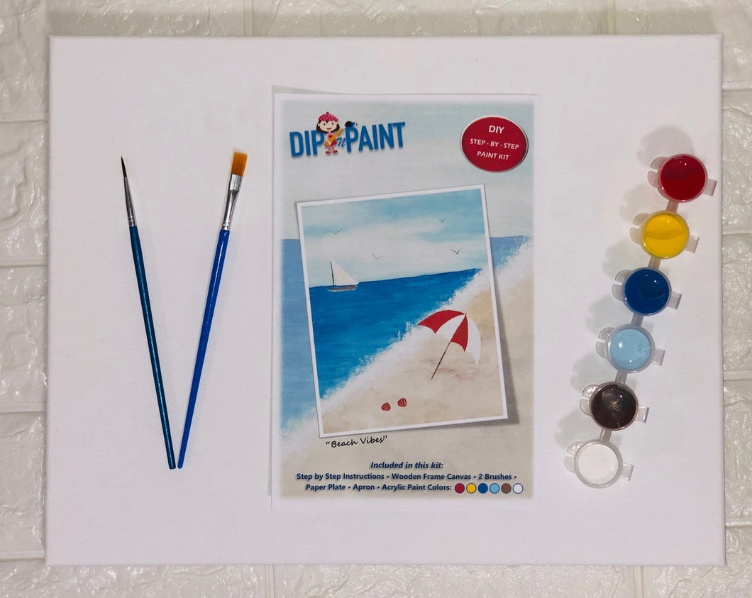 Beach Vibes - Paint Kit