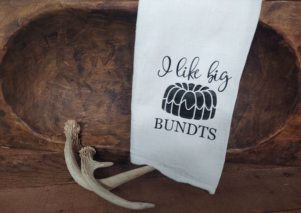 I like Big Bundts-Tea Towel