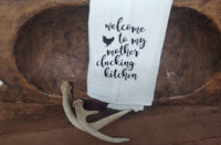 Welcome to the Kitchen-Tea Towel