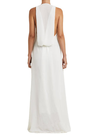 Mistico Dress White Back