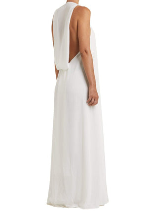 Mistico Dress White Side