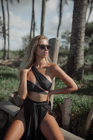 Le Wrap Top / Black