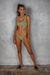 Chiquita Knit  Key Lime /  Green Top Bikini Veronika Pagan