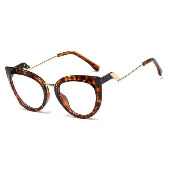 Small square flat glasses