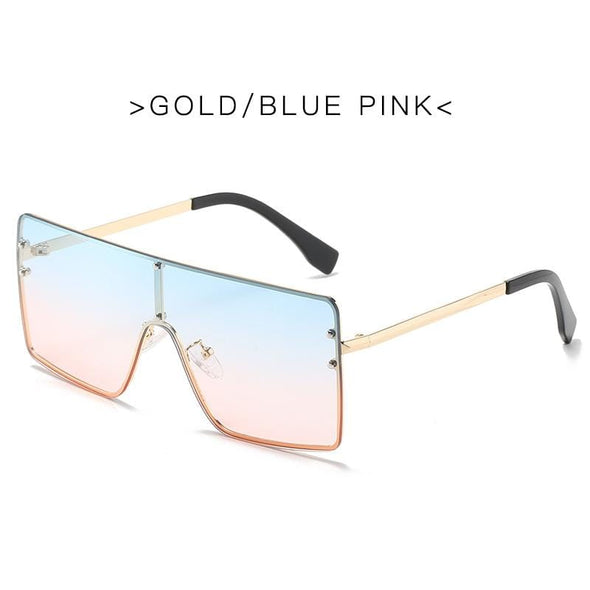 New European and American big frame trend sunglasses mercury pattern personality sunglasses female cross-border foreign trade ins fast selling glasses