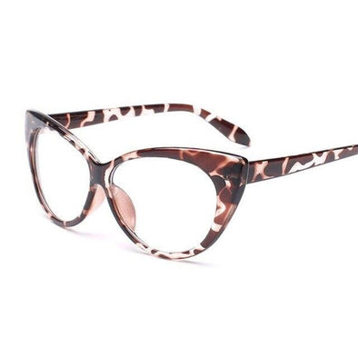 Hot!New Sexy Transparent Cat Eye Optical Glasses