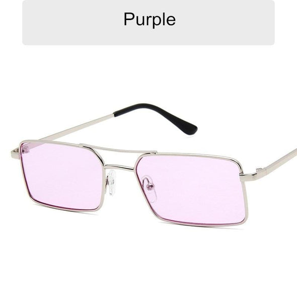 2021 Women/Men Anti-Reflective Mirror Metal Square Out Door Sun Glasses Uv400