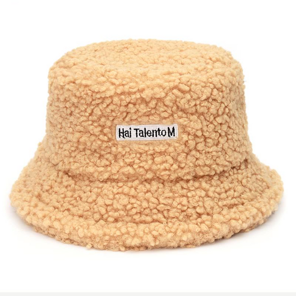 Faux Fur Bucket Hat Thickened Warm Teddy Velvet Winter Hats For Women Lady Bob  Panama Outdoor Plush Fisherman Hat