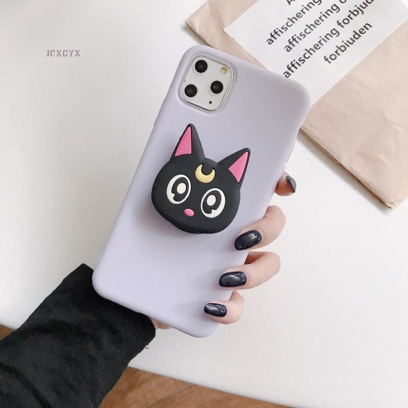 3D Cartoon Melody Soft phone case