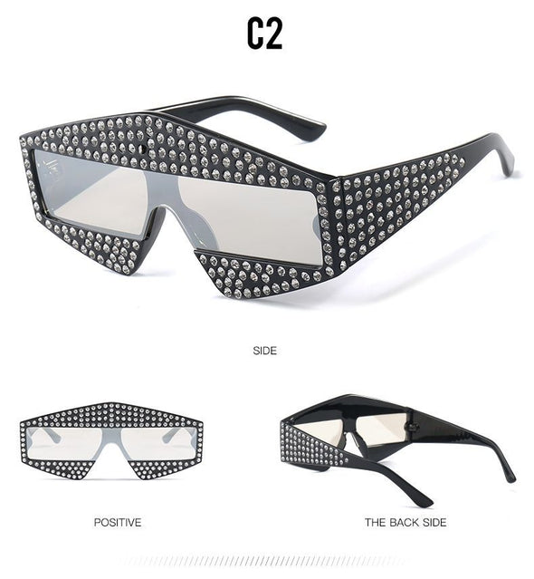 Fashion Cover Diamod Sunglasses