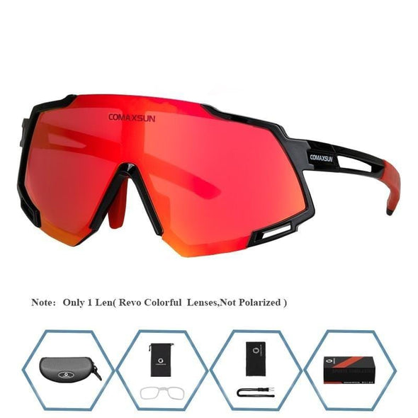 Professional Polarized 5 Len Cycling Glasses