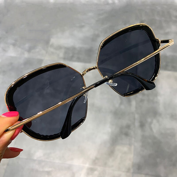 Diamond Oversized Vintage sunglasses