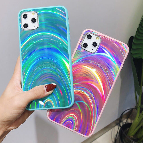 Holographic Prism Laser Case for iPhone