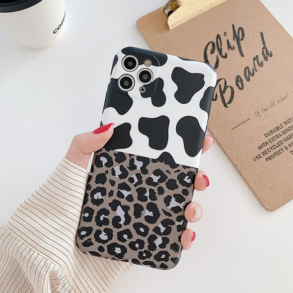 Leopard Print Phone Case Cover