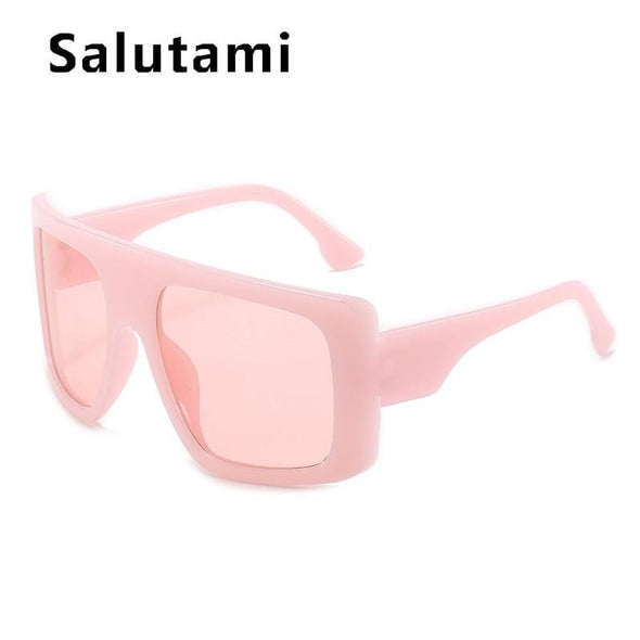 Oversized Square Sunglasses Big Frame Sun Glasses Vintage Gradient