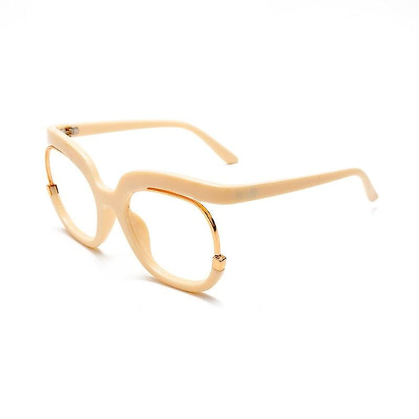 Retro Square Optical Glasses Frames  Computer Glasses Clear Lens Eyeglasses Spectacle Frame
